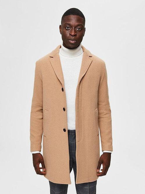 Cappotto misto lana 3 bottoni