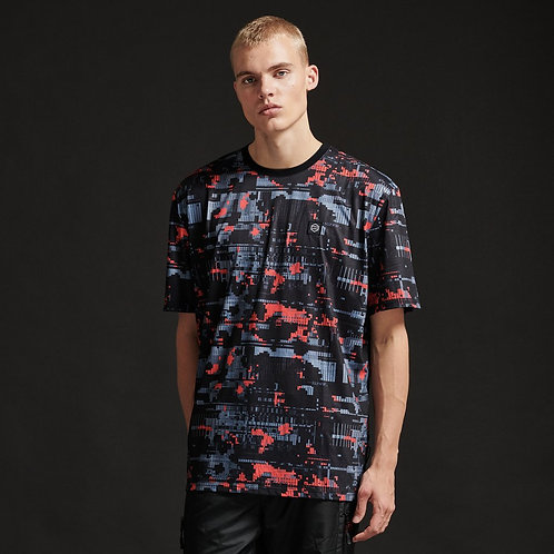 T-shirt Dolly Noire - Glitch Camo Tee