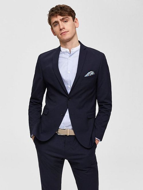 Blazer blu navy slim fit