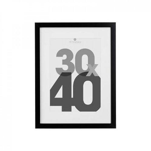 Cornice nera 30x40