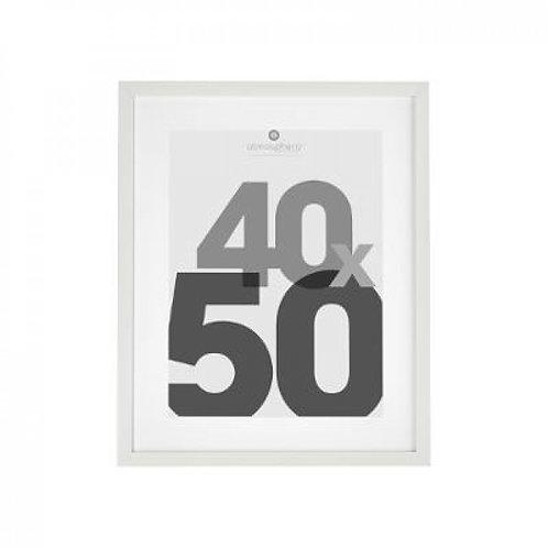 Cornice bianca 40x50
