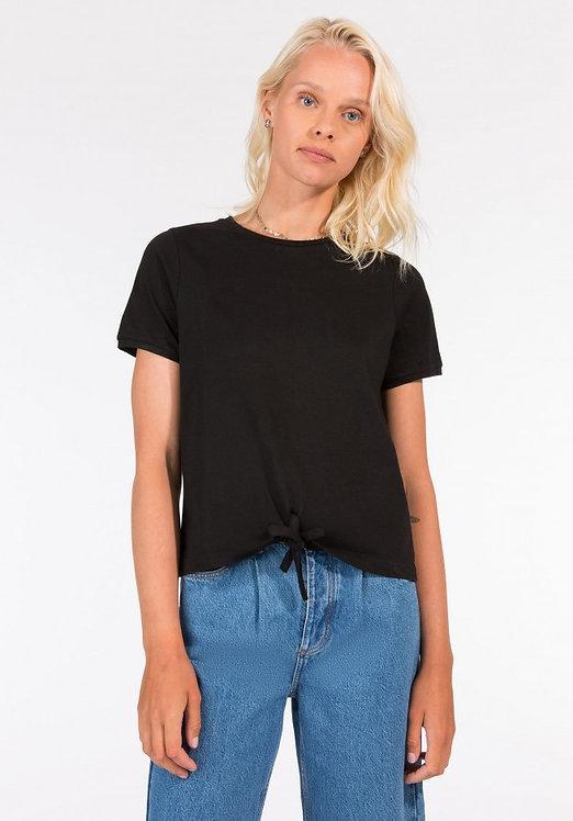 T-shirt nodo Cinty nera