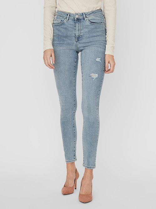 Jeans Sophia Vita alta strappi