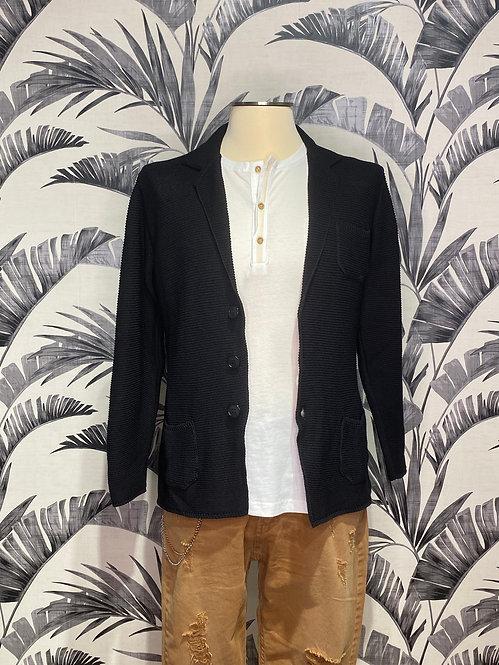 Giacca maglione nero