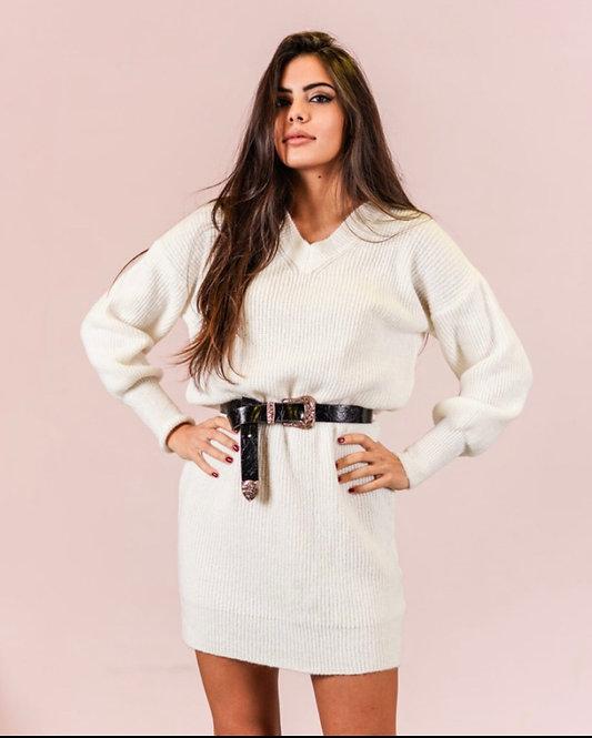 Maglione vestito 20751 4 colori