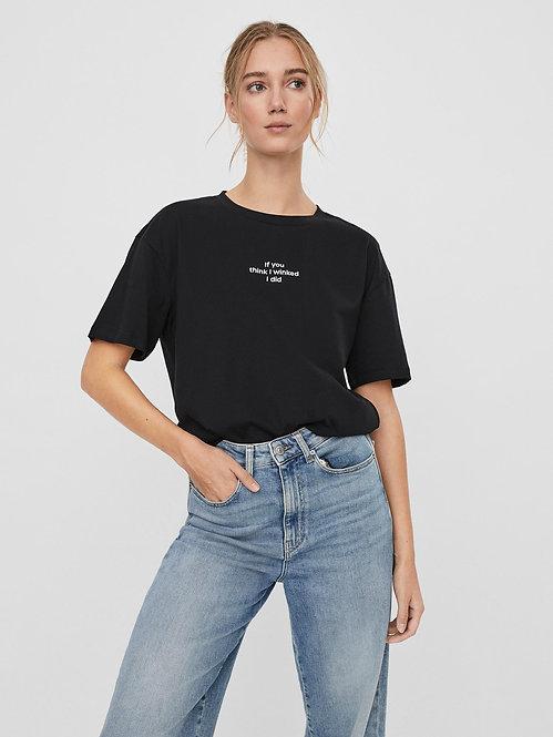 T-shirt Davina Nera