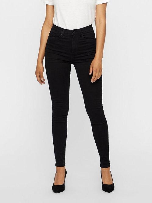 Jeans Sophia Vita alta nero