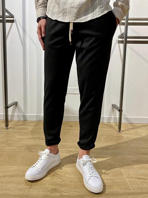 Pantalone con corda nero