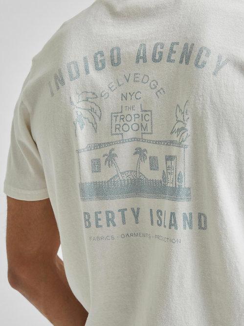 T-shirt Phil Indigo
