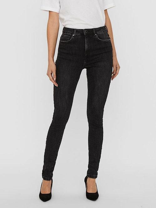 Jeans Loa Vita alta Nero