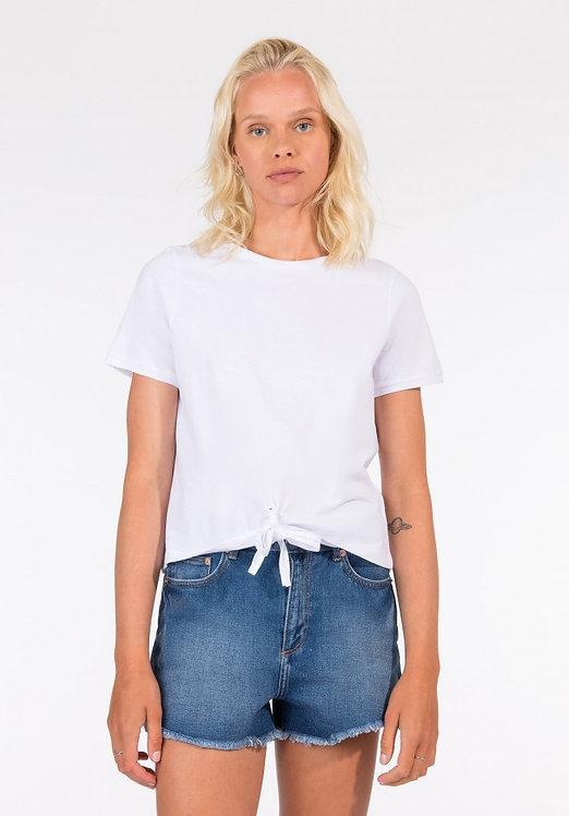 T-shirt nodo Cinty bianca