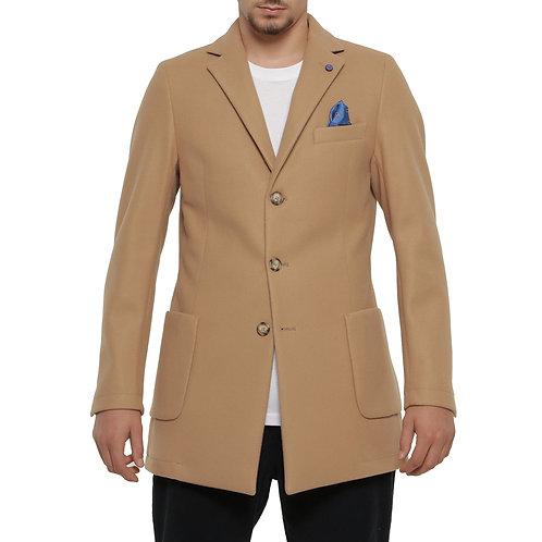 Cappotto 3 bottoni 2 colori