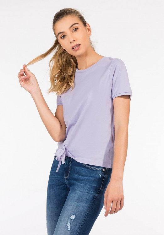 T-shirt nodo Cinty lilla