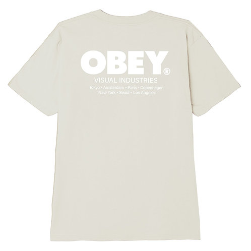 VISUAL INDUSTRIES CLASSIC T-SHIRT OBEY