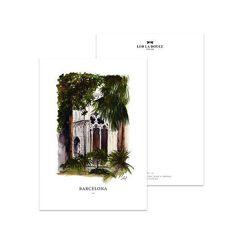 Cartolina -BARCELONA