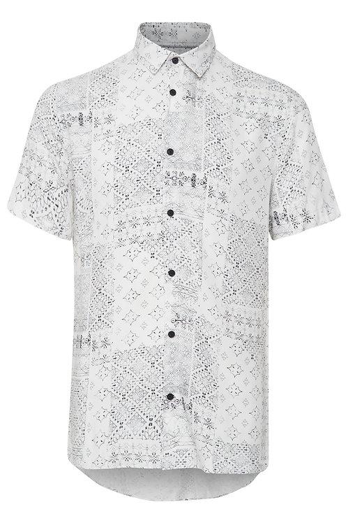 Camicia fantasia bianca