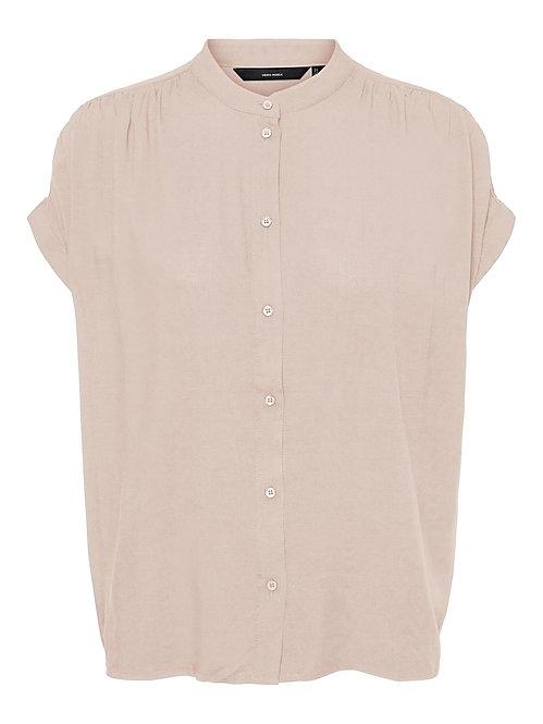 Camicia ads coreana rosa