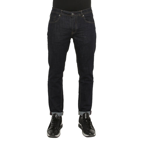 Jeans Regular Fit Blu Denim