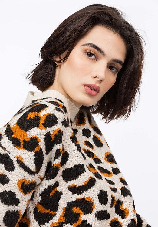 Maglione Leopardato
