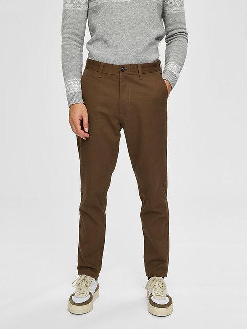 Pantalone slim tapared