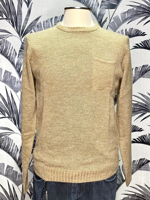 Maglione con taschino 2 colori