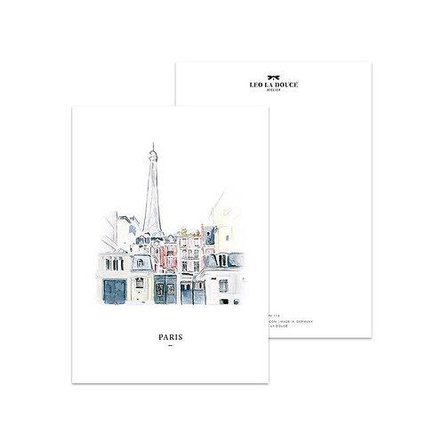 Cartolina - PARIS