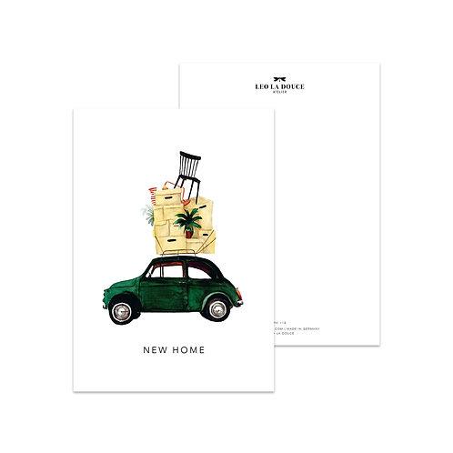 Cartolina - NEW HOME