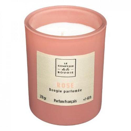 Candela profumata 210 gr Rosa