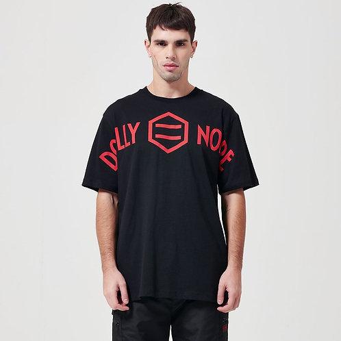 T-shirt Dolly Noire - Master Logo Black & Red