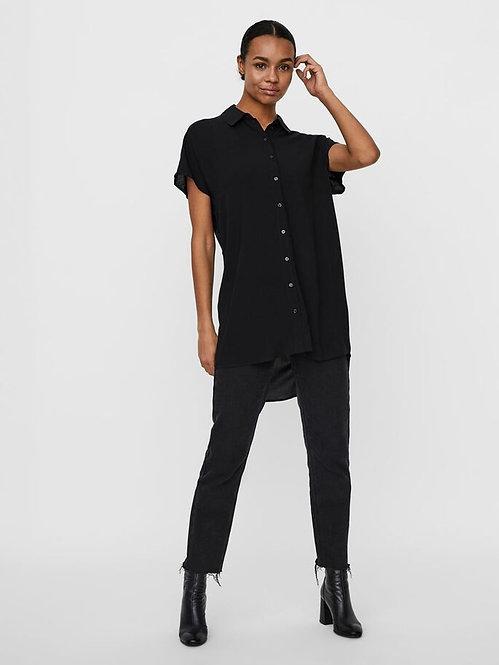 Vestito camicia nads nero