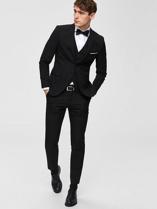 Pantalone nero slim fit