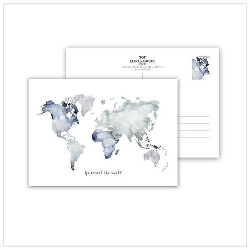 Cartolina - WORLD CARD