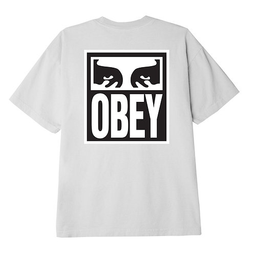EYES ICON II CLASSIC T-SHIRT BIANCO