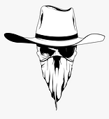 114-1142248_cowboy-hat-drawing-bandana-c