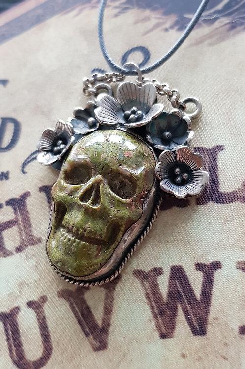 "Pendentif ""Dead Flowers"" - Naga"