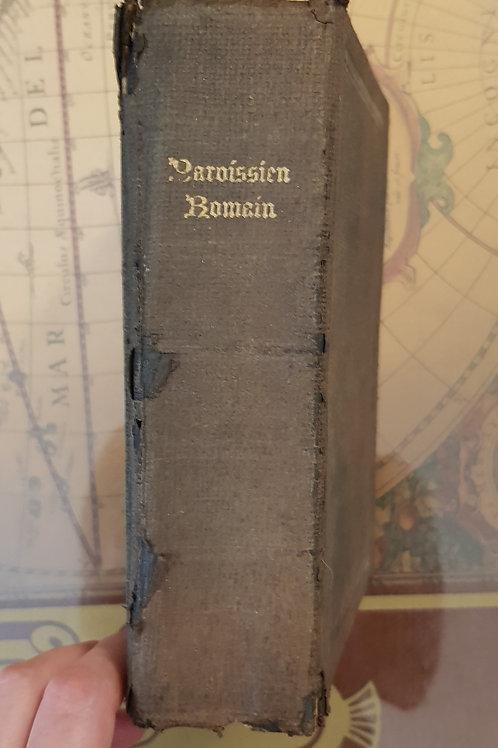 Paroissien Romain, livre ancien