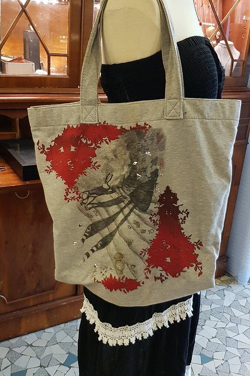 "Tote bag ""Alice in Wonderland"""
