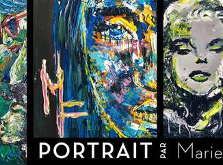 Vernissage - Portrait par Marie.F