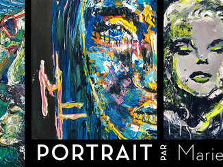 Vernissage - Portrait par Marie.F