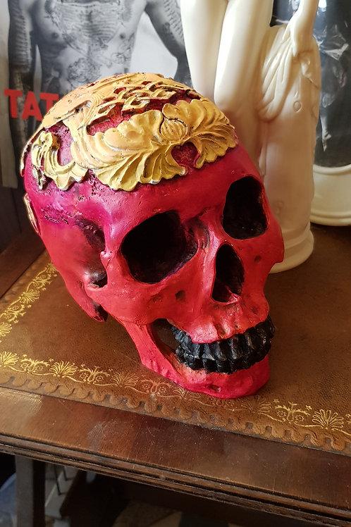 Crâne résine - Pièce unique