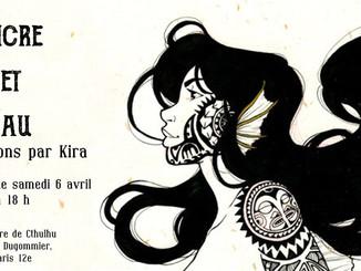 Vernissage : Encre et Eau, par -KiRa-