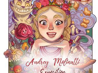 Audrey Molinatti expose !