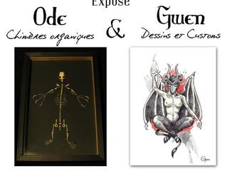 L'expo de Ode et Gwen !