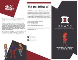 KHAOS brochure