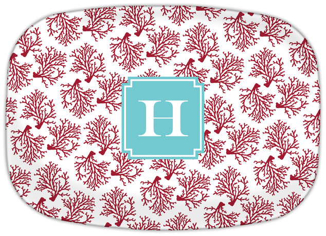 Coral Repeat Cranberry