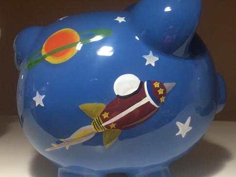 Astronaut Piggy