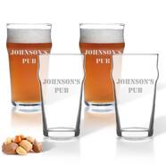 Glass Pub Glasses