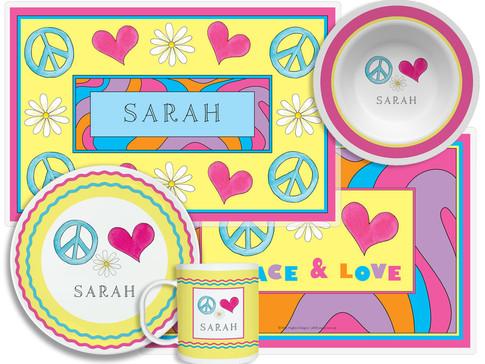 Peace Love Eat 838