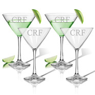 Glass Martini Set