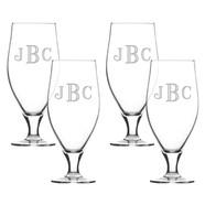 Glass Cervoise Set